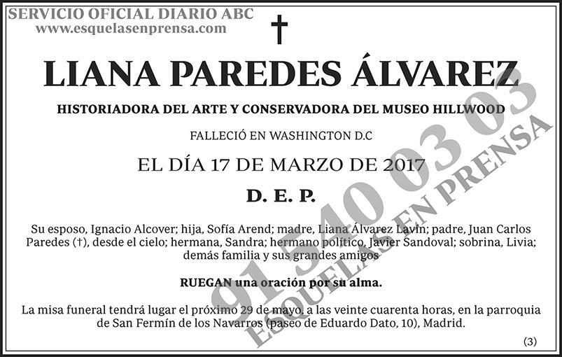 Liana Paredes Álvarez
